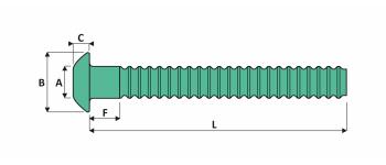 Magna-Grip Schliessringbolzen Aluminium Typ F FK