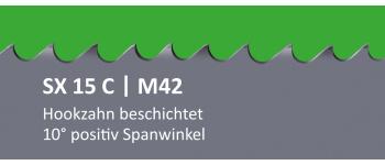 SX15C PONTUS M42 Bi-Metall Sägeband beschichtet