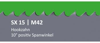 SX15 PONTUS M42 Bi-Metall Sägeband