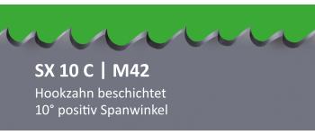 SX10C PONTUS M42 Bi-Metall Sägeband beschichtet