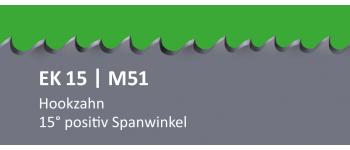EK15 PONTUS M51 Bi-Metall Sägeband