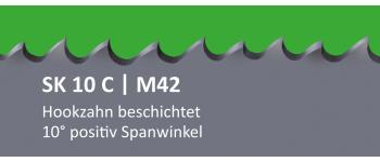 SK10C PONTUS M42 Bi-Metall Sägeband beschichtet