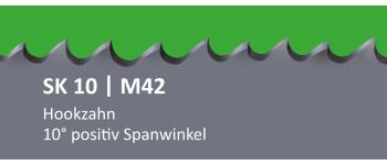 SK10 PONTUS M42 Bi-Metall Sägeband