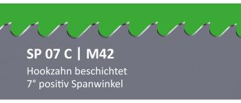 SP07C PONTUS M42 Bi-Metall Sägeband beschichtet