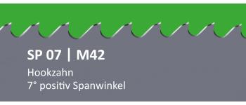 SP07 PONTUS M42 Bi-Metall Sägeband