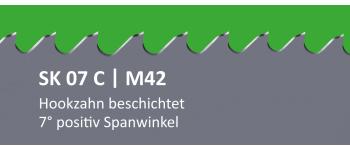 SK07C PONTUS M42 Bi-Metall Sägeband beschichtet