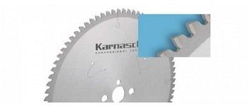 Hartmetall-bestücktes Kreissägeblatt, Dünnschnitt - NEGATIV - Aluminium, Kunststoffe, Fensterprofile