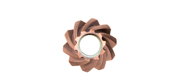 Bevel Mate Fräskopf 3.0 Tisinos®-Beschichtung 30° - 45° max Frästiefe 8 mm