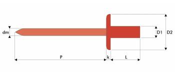 Q-Sealed Dicht-/Becherniet Edelstahl A2/A1 GK